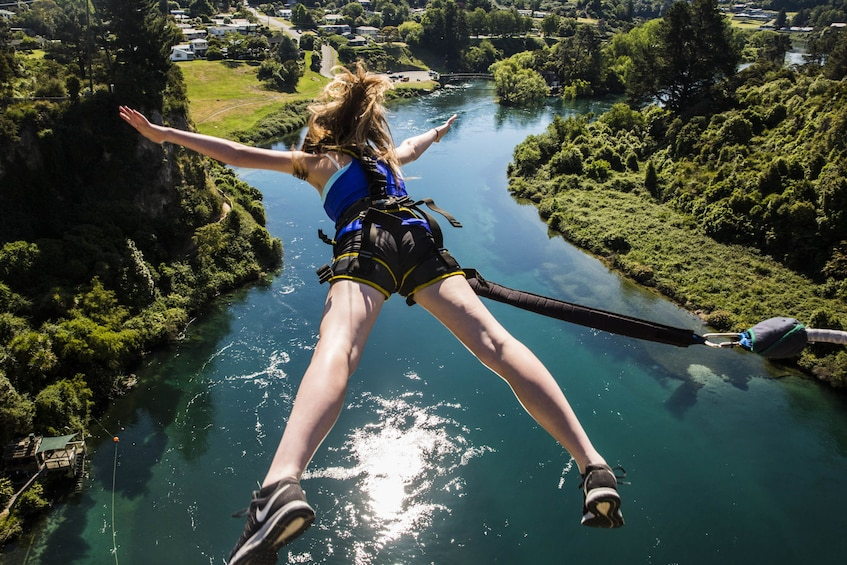 Show item 7 of 7. Taupo Bungy - Cliff-top Bungy