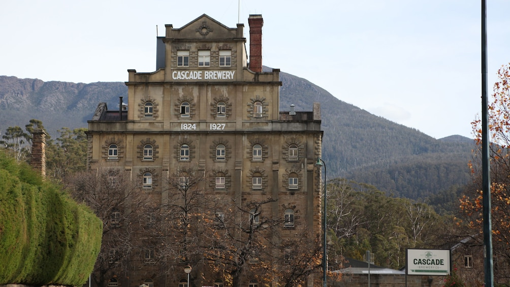 Cascade Brewery from Hobart