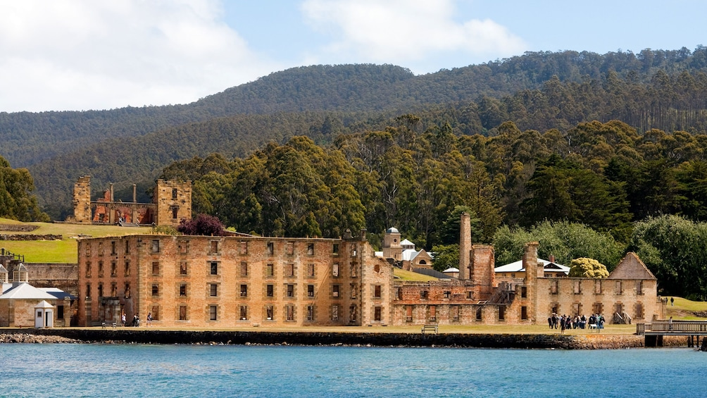 Show item 1 of 6. Panoramic view of Grand Port Arthur in Hobart