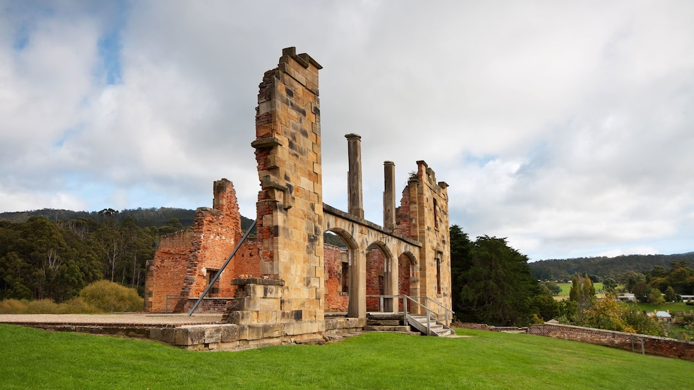 Show item 2 of 6. Side view of the Grand Port Arthur in Hobart