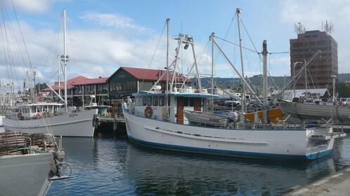 A dock in Hobart