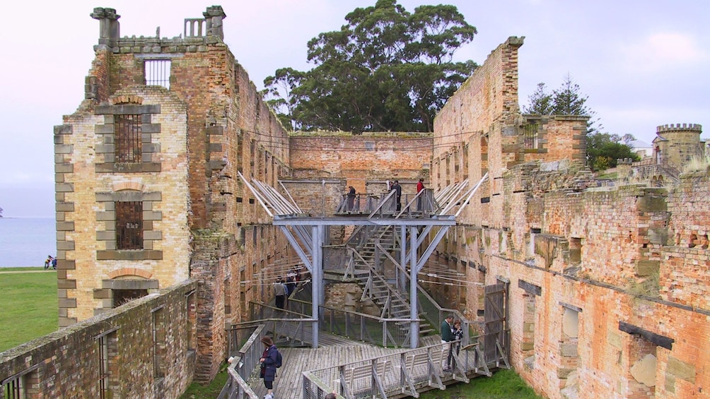 Show item 3 of 6. Close view of the Port Arthur Historic Site in Australia