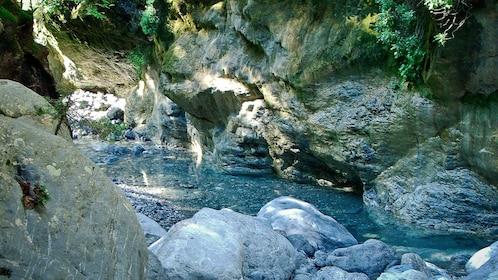 Creek running down Samariá Gorge