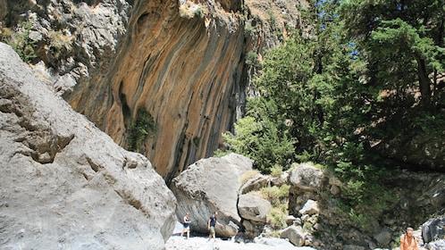 Gorgeous view of the Samariá Gorge