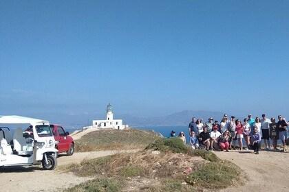 e-TUK Cheese Tasting & Landscape Mykonos Tour