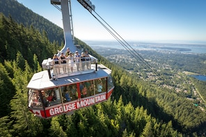 Adgangsbilletter til Grouse Mountain