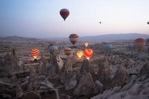 Fly over Antalya Hot air balloon tour;Solo;Couple;Group