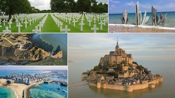 DDay Beaches, Mt.St. Michel & St. Malo, 2Day Private - Paris
