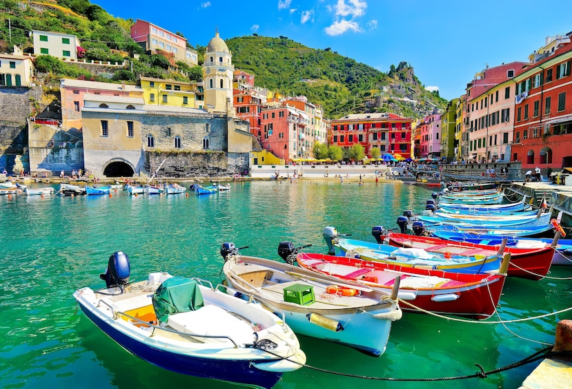 Show item 4 of 8. Cinque Terre Hiking Tour From La Spezia Train Station