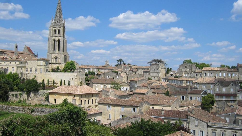 The skyline of Saint Emilion