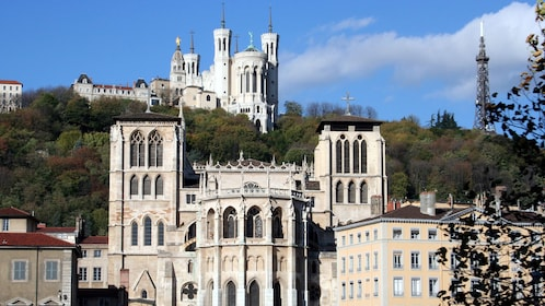 Stunning view of the building of Lyon City
