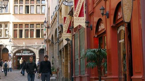 Street view of Lyon