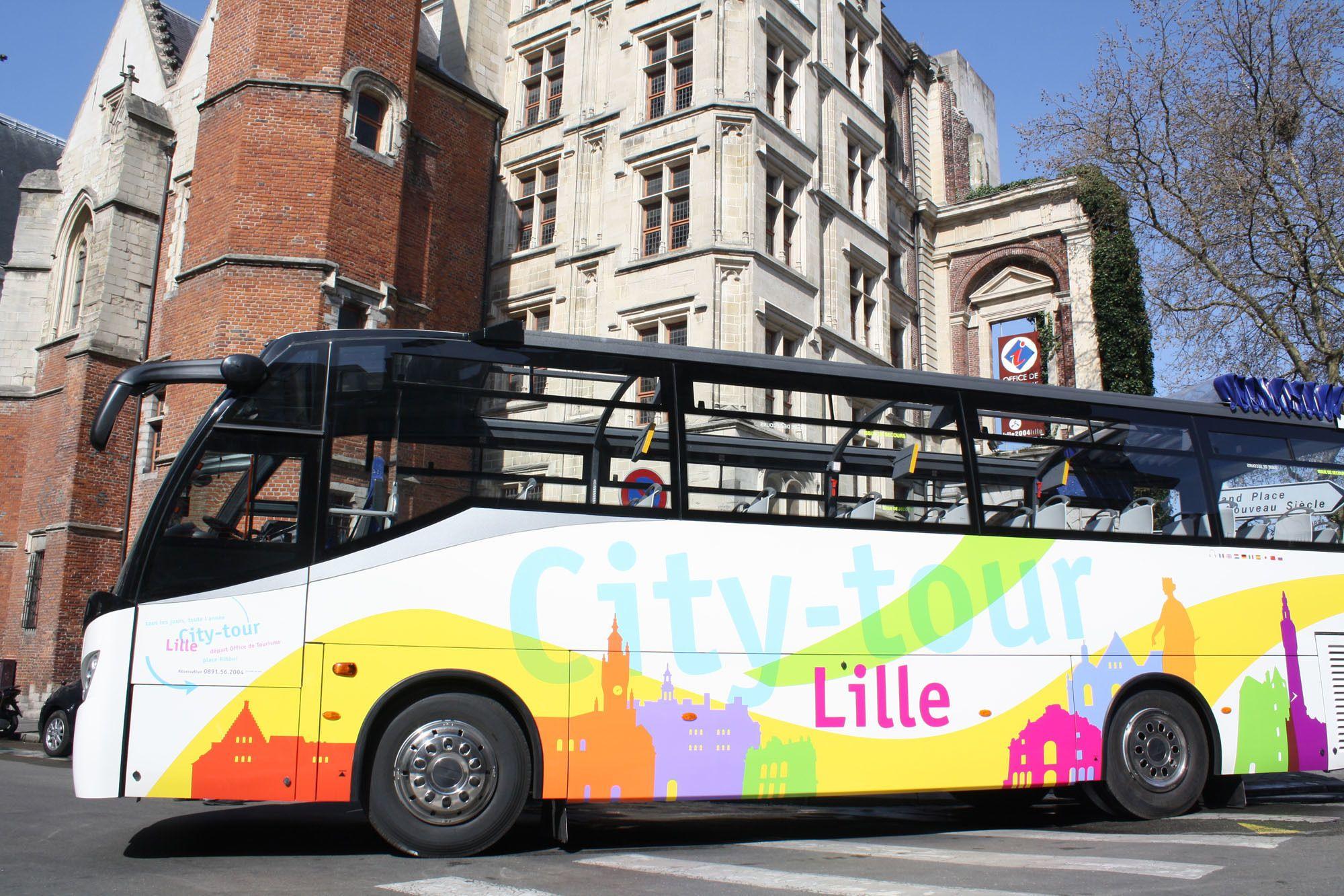 Sightseeing-tour door het centrum van de stad
