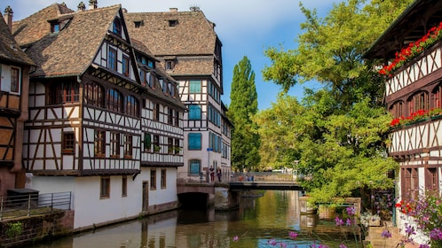 Unique historic buildings in Strasbourg