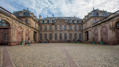 A historical palace in Strasbourg