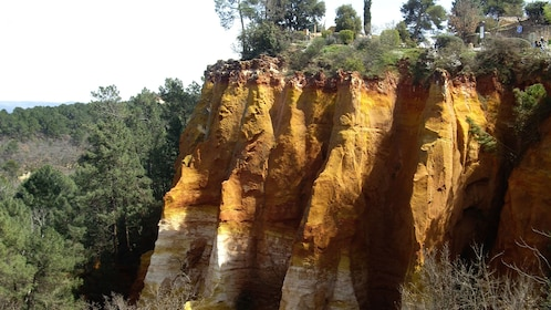 Red cliffs of Roussillon