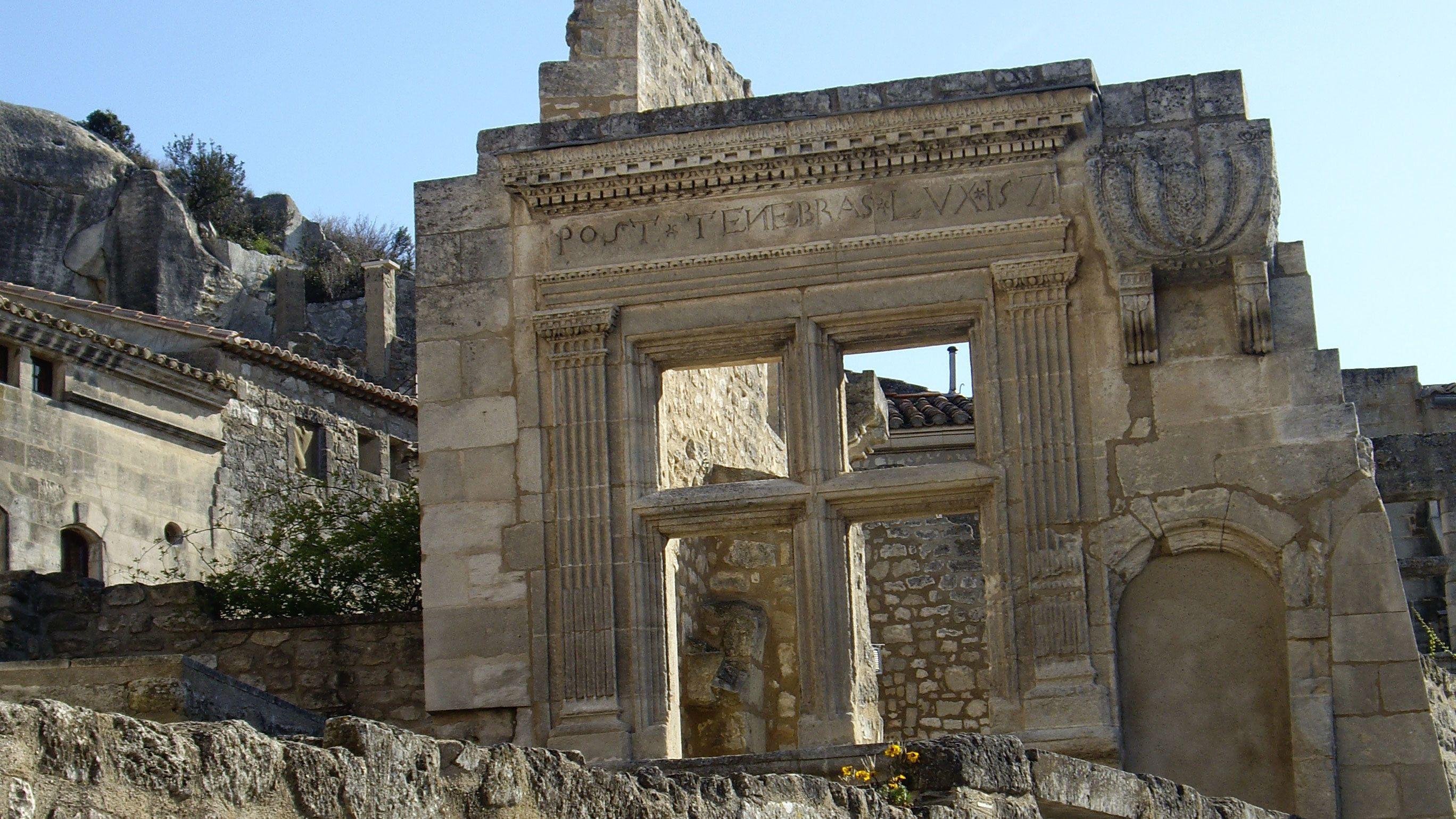 Ruins of the Château des Baux in Les Baux-de-Provence