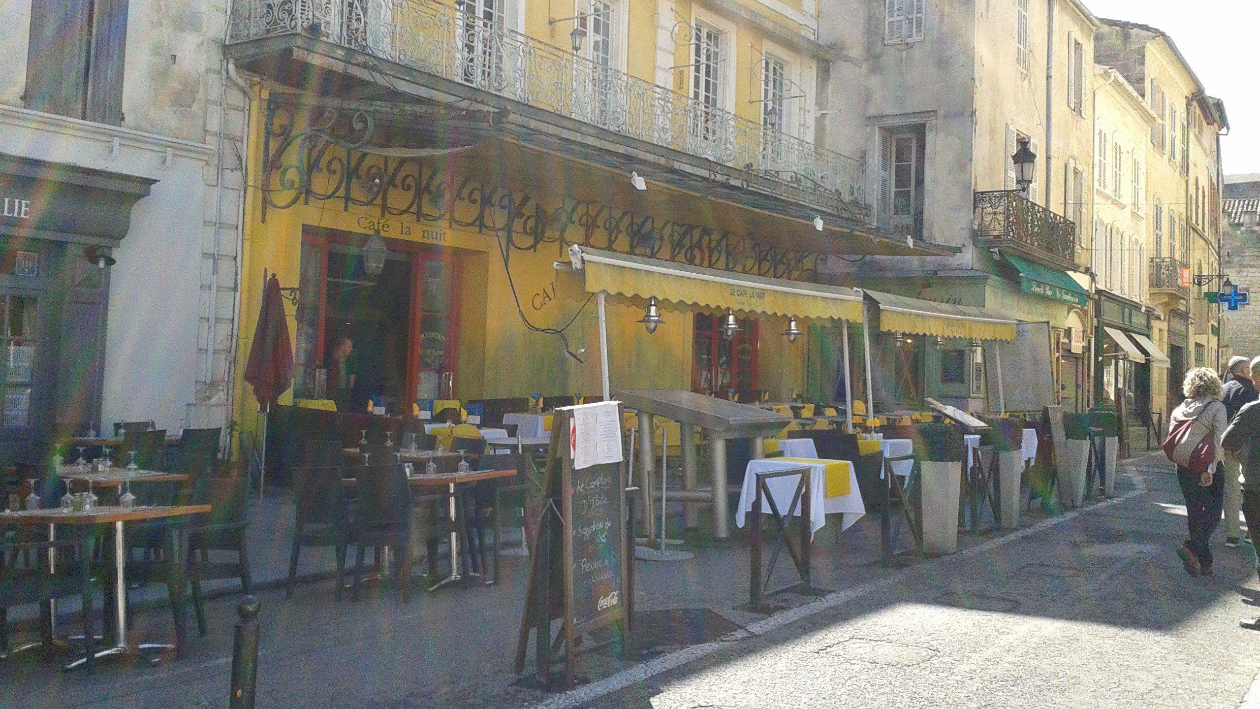 Café Van Gogh as painted by the artist in Arles