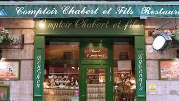Abendessen im Restaurant Chabert et Fils