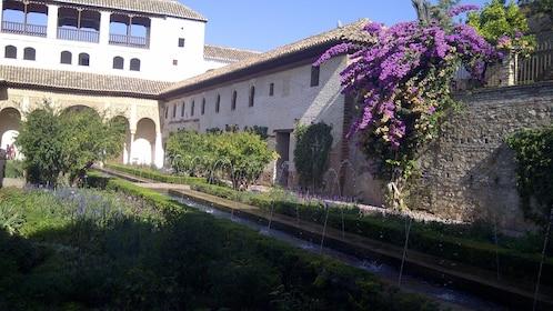 Serene view of a building in Granada