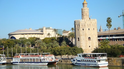 Downtown Seville during the day