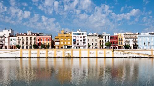 Beautiful Triana neighborhood in Seville