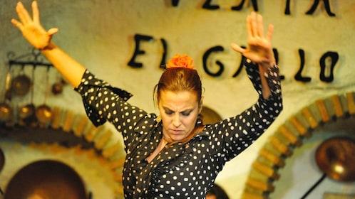 woman dancing in spain