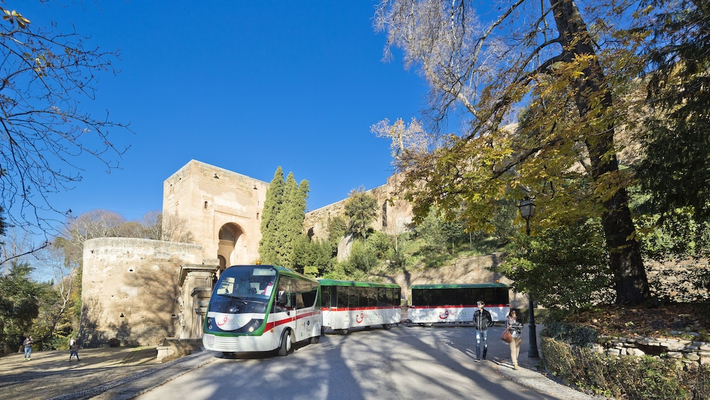 Carregar foto 2 de 9. Hop-On Hop-Off Granada City Tour Train