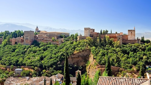 Alhambra palace in granada