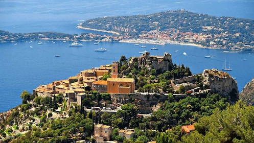 Stunning aerial view of Nice