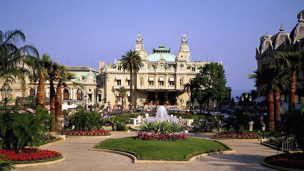 Show item 3 of 5. View of the Monte Carlo Casino in Monaco