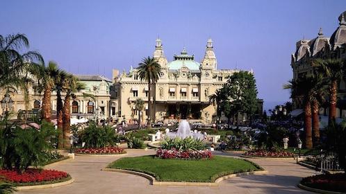 View of the Monte Carlo Casino in Monaco