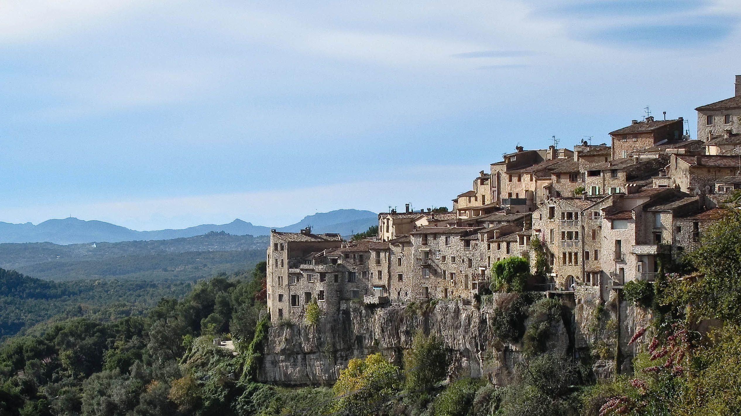 Halvdagstur till St. Paul de Vence och byar i Provence