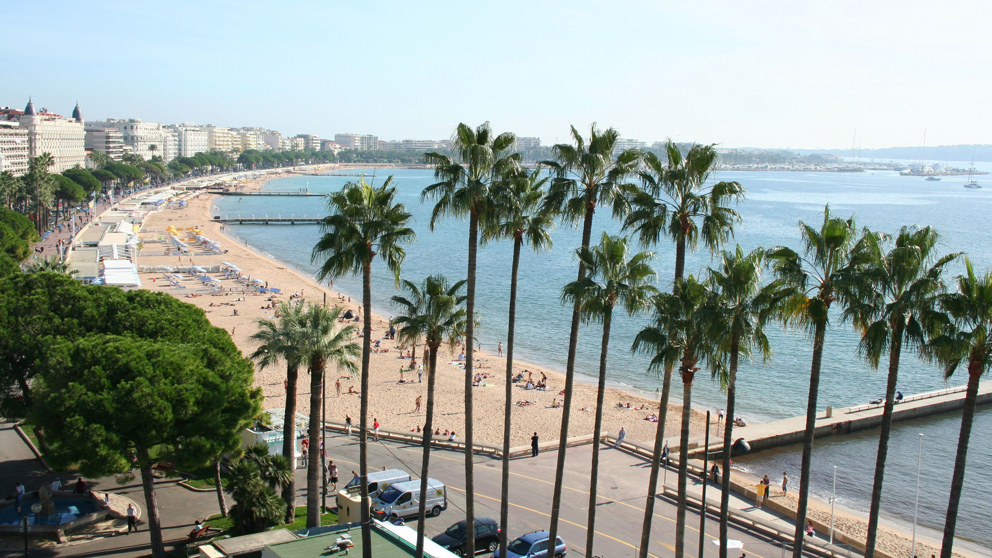 Gorgeous overhead view of Cannes