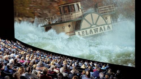 Daredevil experience through the IMAX theater at Niagara Falls