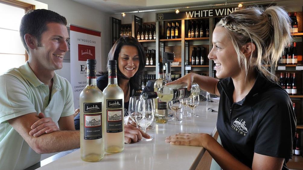 Foto 3 von 5 laden Chilled wine tasting at Niagara Falls