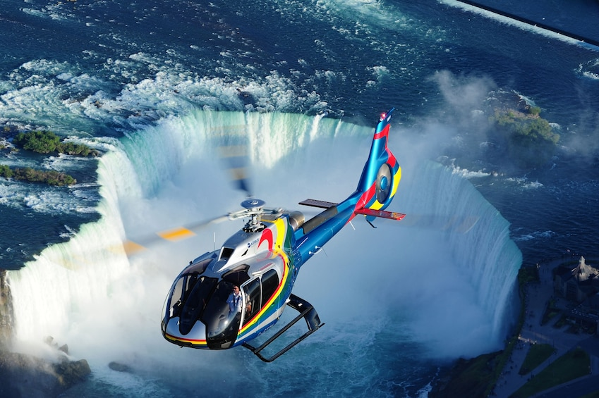 Show item 2 of 6. Helicopter Tour of Niagara Falls