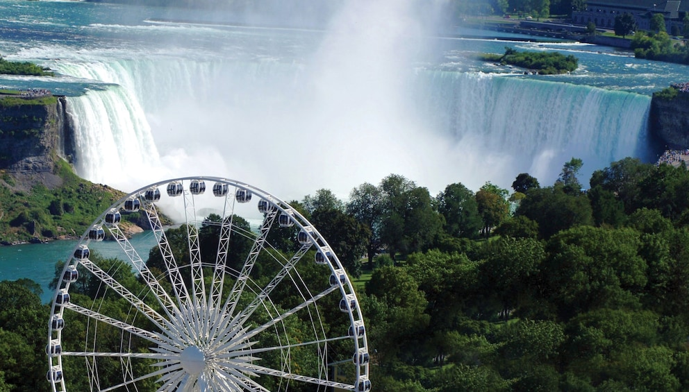Show item 1 of 5. The Niagara SkyWheel near the waterfalls in Niagara Falls