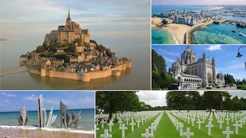 St.Teresa Lisieux,L.Beaches,Mt.St.Michel,St.Malo, 3Day Paris