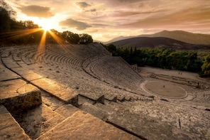 Private Tour of Epidaurus, Ancient Corinth & Isthmus Canal