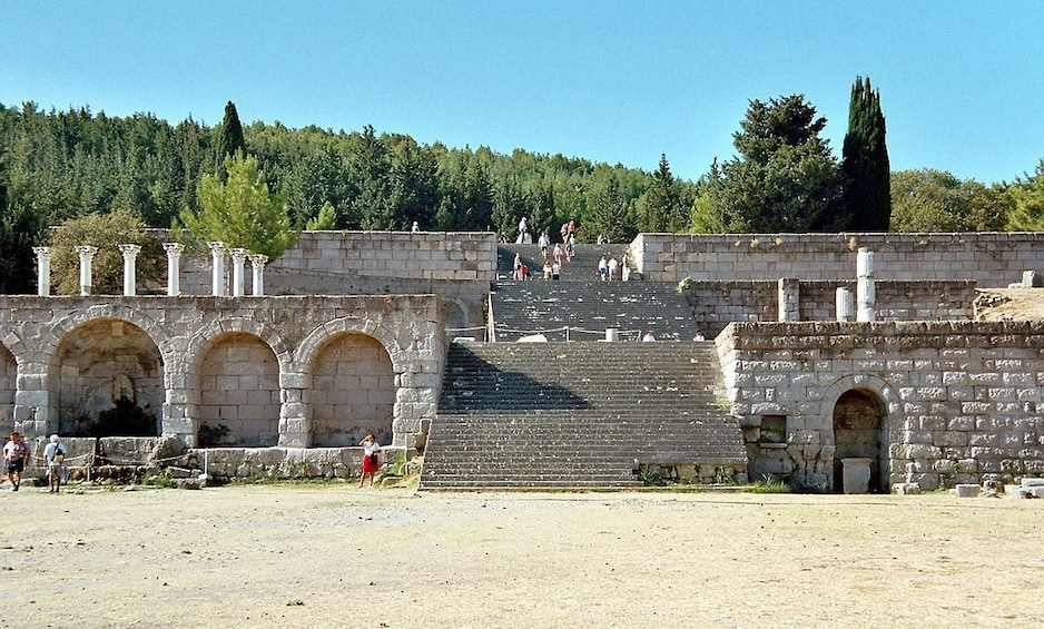 Show item 2 of 10. Private Tour of Epidaurus, Ancient Corinth & Isthmus Canal