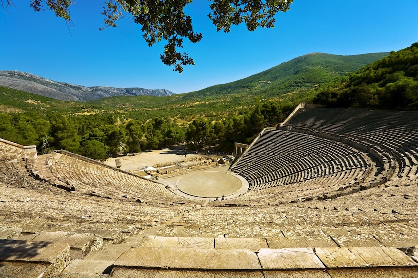 Show item 3 of 10. Private Tour of Epidaurus, Ancient Corinth & Isthmus Canal