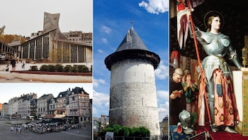 St. JOAN of ARC in Rouen 1-Day Private tour from Paris