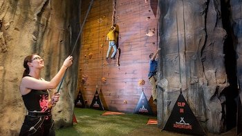 Indoor Climbing Experience at The Bear Grylls Adventure