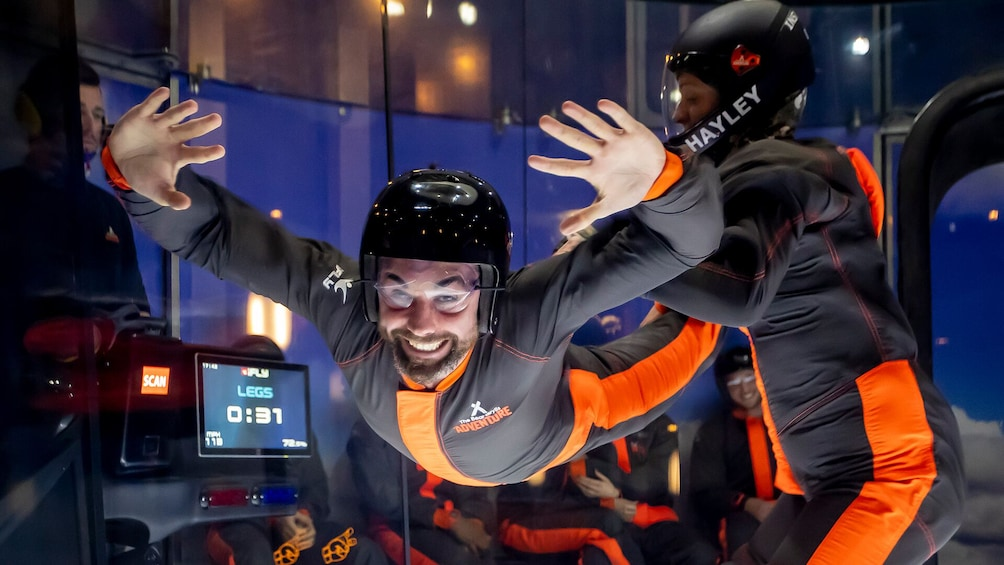 iFly Indoor Skydiving at The Bear Grylls Adventure