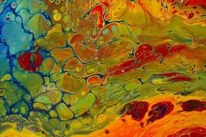 Acrylic Pour Painting Class in Estes Park