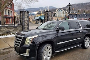 Private SUV transfer Mont-Tremblant to Montreal Airport