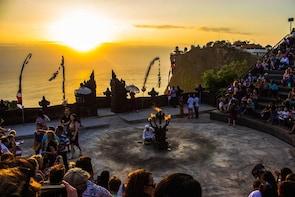 Uluwatu Temple Kecak Fire Dance during Sunset (Shared Tour)