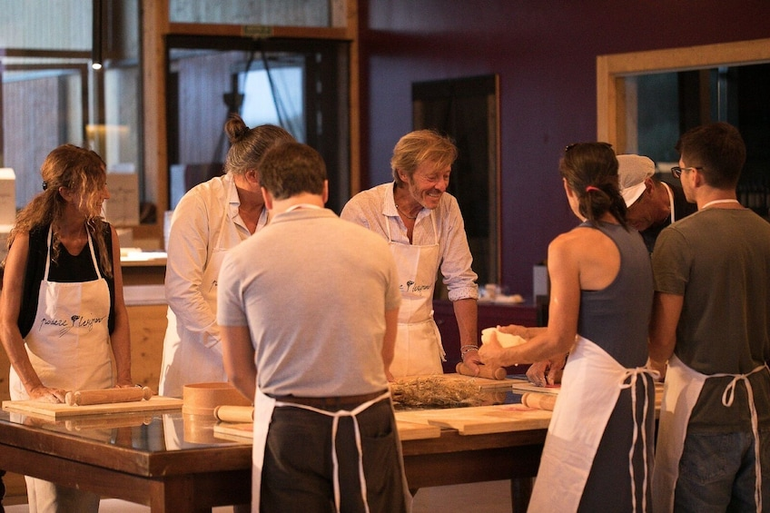 Hands-on cooking class at the farmohouse in San Marino