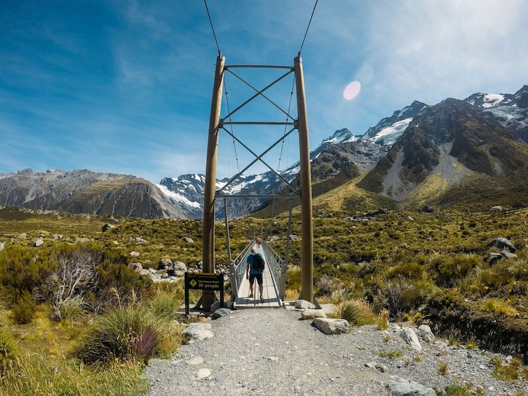 Show item 5 of 10. Mt Cook Fly Explore Fly